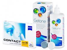 Carl Zeiss Contact Day 30 Spheric (6db lencse) +360 ml Geloneápolószer