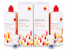 Refine One Step kontaktlencse folyadék 2x 360 ml