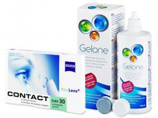 Carl Zeiss Contact Day 30 Compatic (6db lencse) +360 ml Geloneápolószer