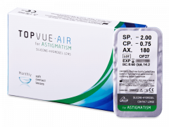 TopVue Air for Astigmatism (1db lencse)