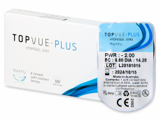 TopVue Monthly Plus (1 db lencse)