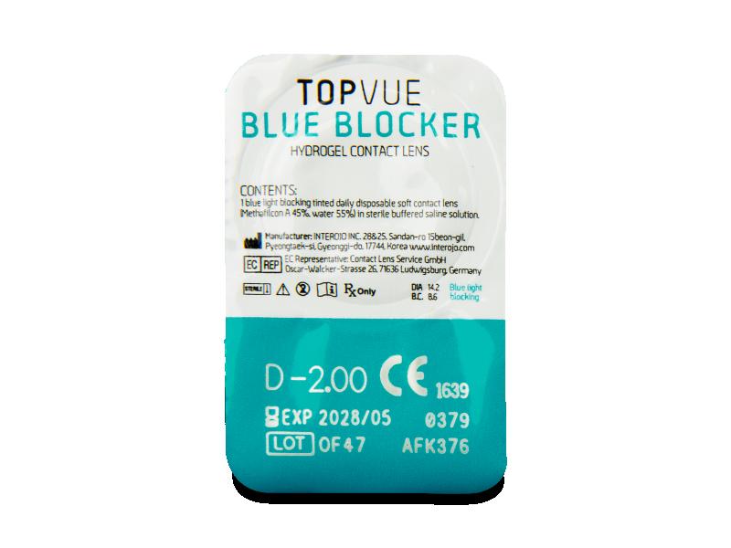TopVue Blue Blocker (30 db lencse)