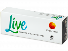 Live Daily Disposable (30 db lencse)