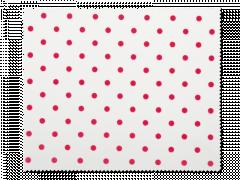 Szemüvegtisztító kendő - piros pöttyös