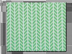 Szemüvegtisztító kendő - zöld és fehér, halszálkás
