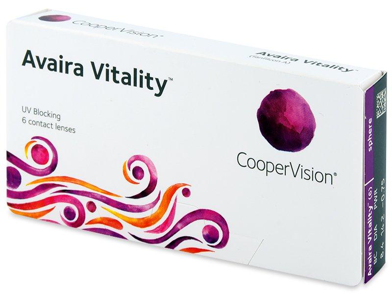 Avaira Vitality (6 db lencse)