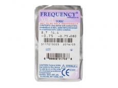FREQUENCY XCEL TORIC (3db lencse)