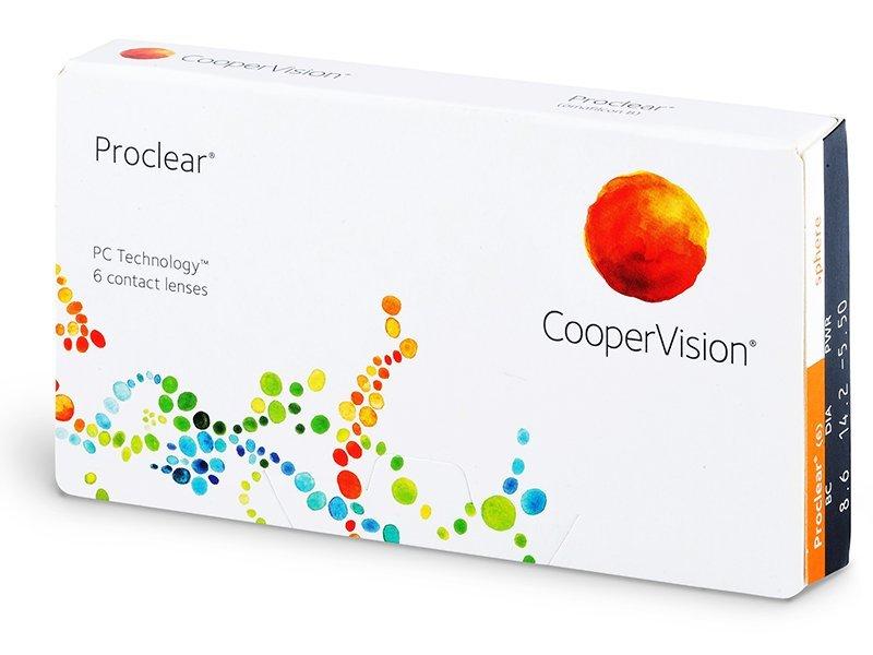Proclear Sphere (6db lencse)
