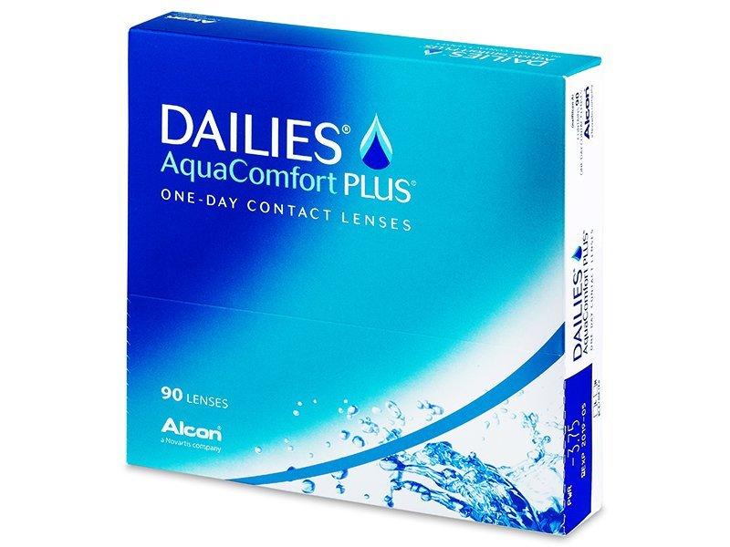 Dailies AquaComfort Plus (90db lencse)