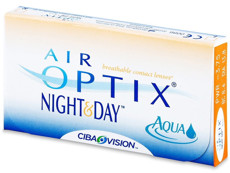 Air Optix Night and Day Aqua (3db lencse)
