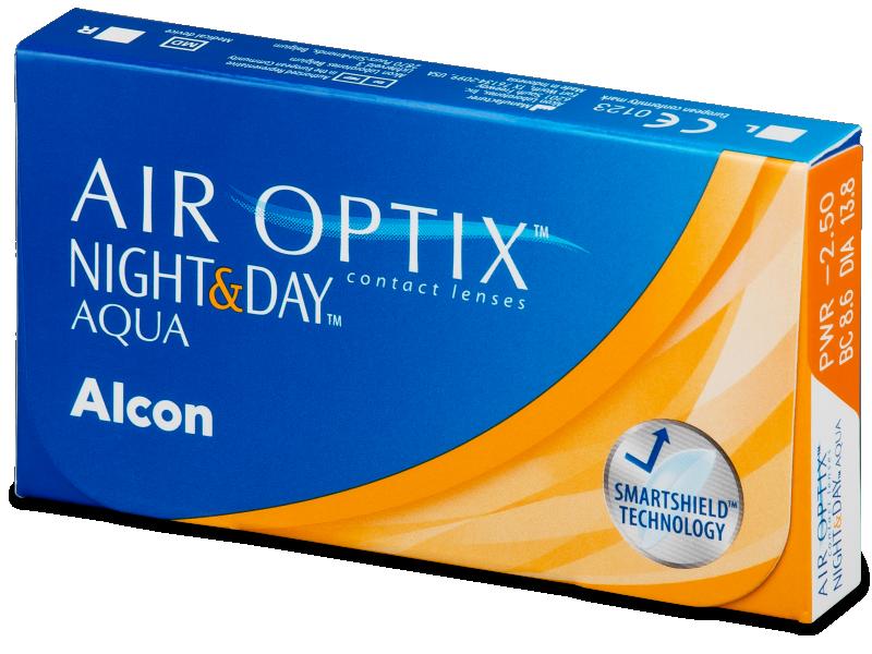 Air Optix Night and Day Aqua (6db lencse)